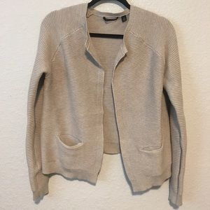 NWT Cyrus Open Front Cardigan Ribbed